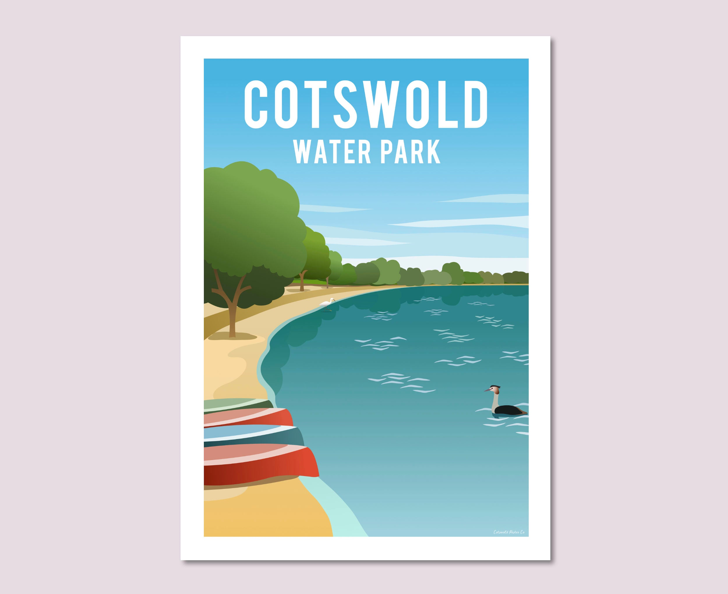 Cotswold Water Park Beach