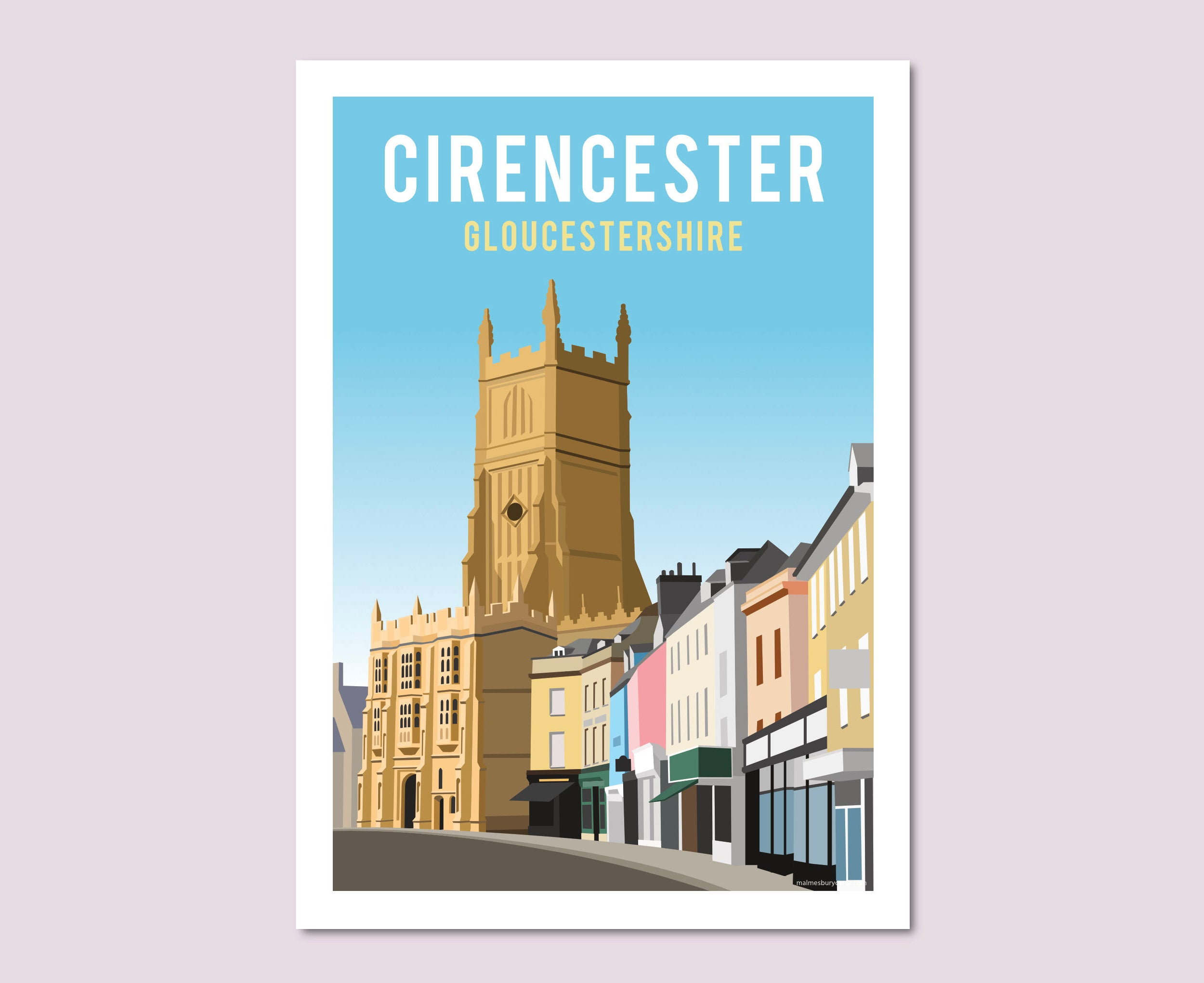 Cirencester Church and Marketplace