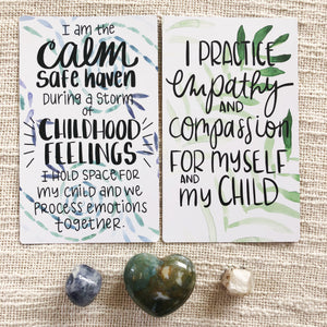 MINDFUL PARENTING AFFIRMATION DECK