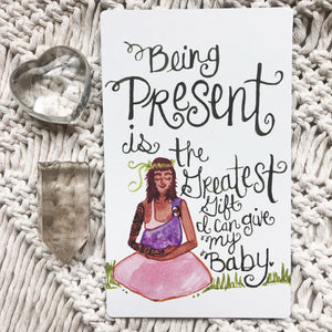 POSTPARTUM AFFIRMATION CARDS