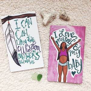 PRE-SALE - PREGNANCY & BIRTHING AFFIRMATION CARDS