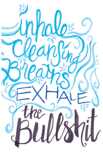 Inhale / Exhale Art