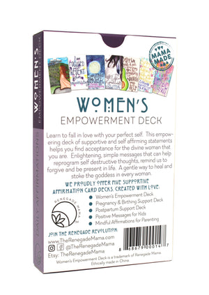 WOMEN'S EMPOWERING AFFIRMATION CARDS