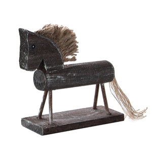 Wooden Horse Decoration