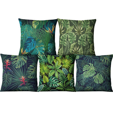 Tropical African Plants pillow case