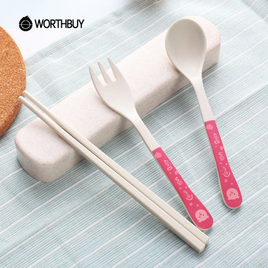 Portable cutlery for kids