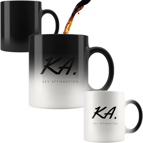 Key Affirmation Magic Mug - KA Inspires