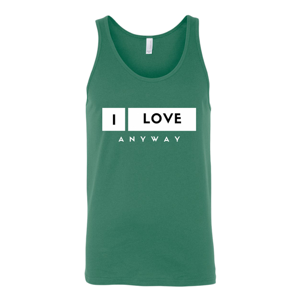 I Love Anyway Mens Tank