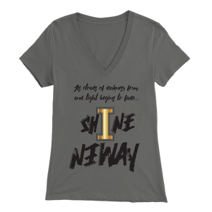 Shine Anyway Everyday Womens V-Neck - KA Inspires