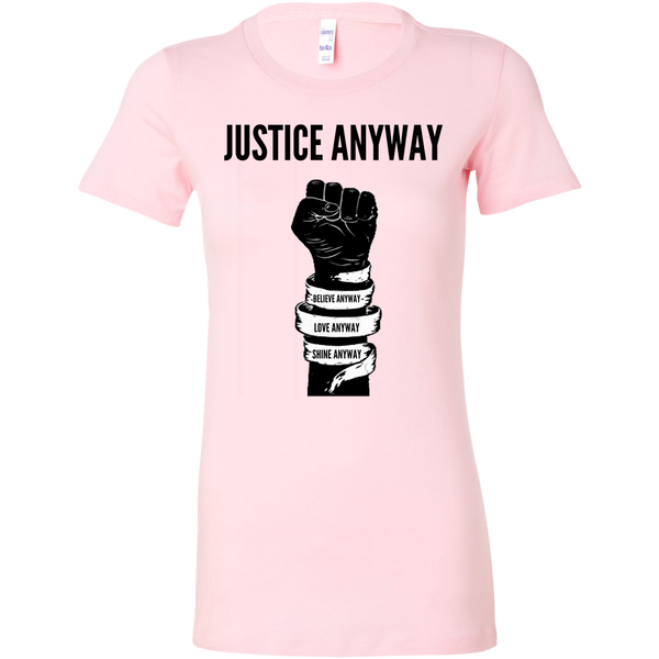 Justice Anyway Womens Sliming Shirt