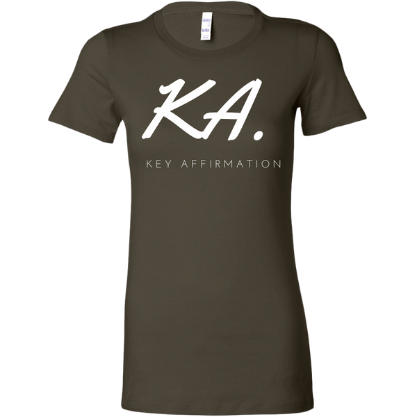 Key Affirmation Womens Shirt