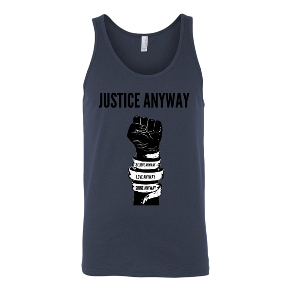 Justice Anyway Mens Tank