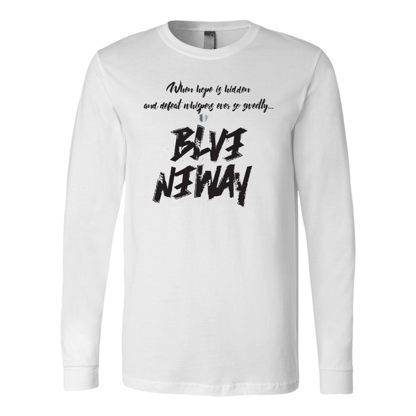 Believe Anyway Be Bold Mens Long Sleeve Shirt - KA Inspires
