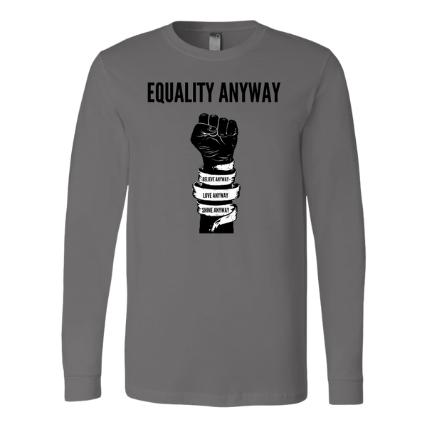 Equality Anyway Mens Long Sleeve Shirt