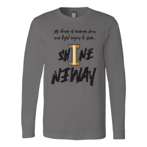Shine Anyway Everyday Mens Long Sleeve Shirt - KA Inspires