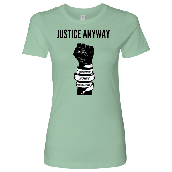 Justice Anyway Womens Shirt