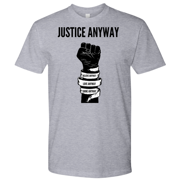 Justice Anyway Mens Shirt