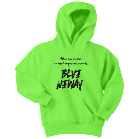 Believe Anyway Be Bold Youth Hoodie - KA Inspires
