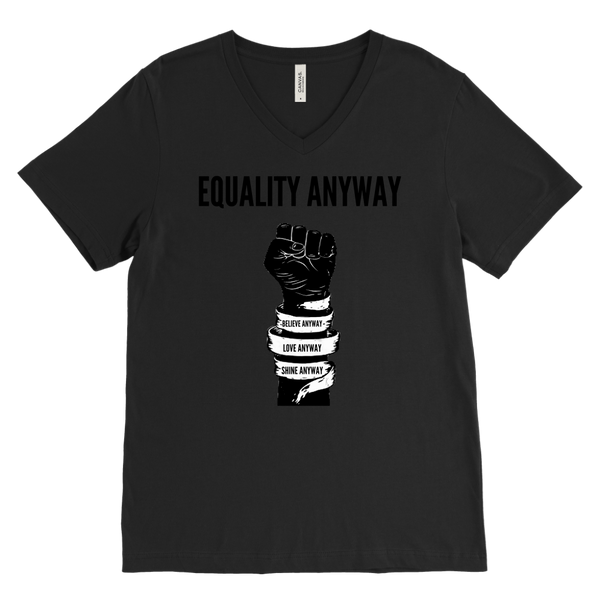 Equality Anyway Mens V-Neck