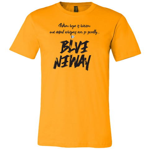Believe Anyway Be Bold Mens T-Shirt - KA Inspires