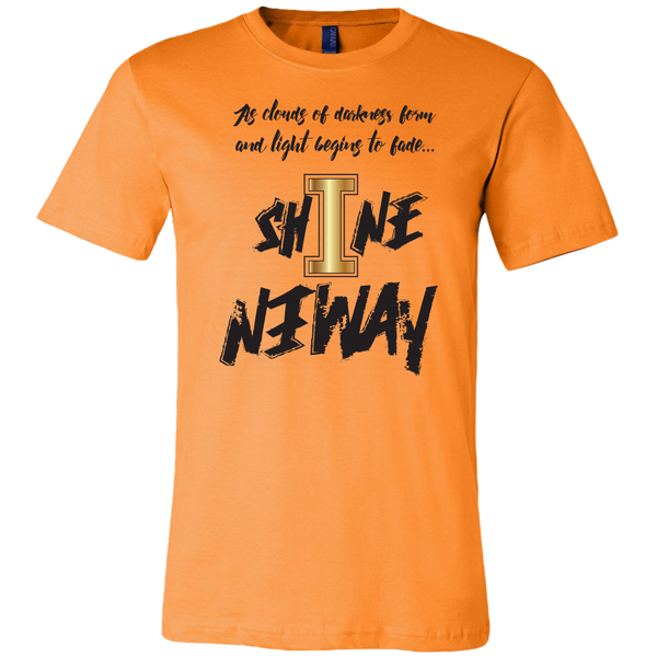 Shine Anyway Everyday Mens T-Shirt - KA Inspires