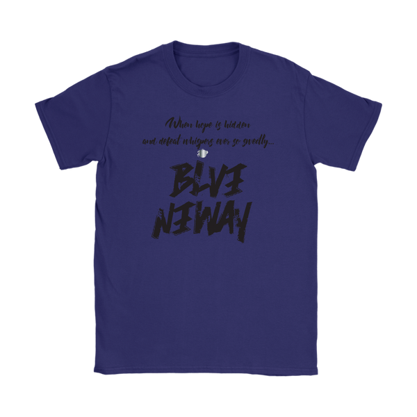 Believe Anyway Be Bold Womens T-Shirt - KA Inspires