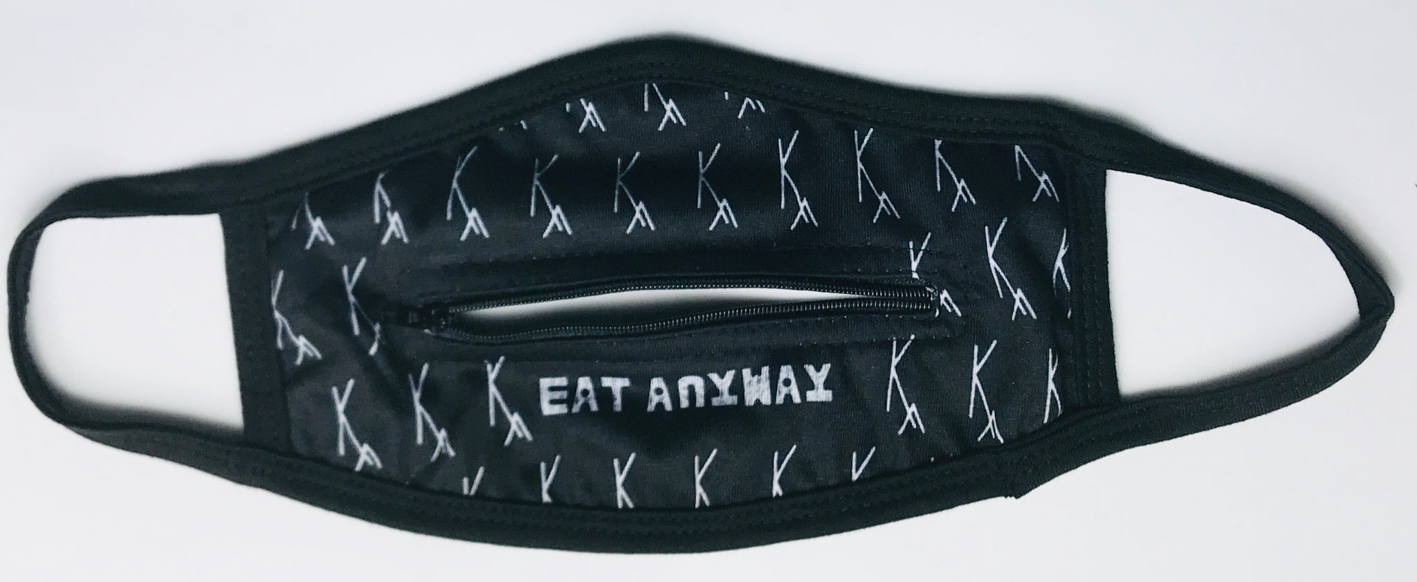 KA EAT ANYWAY ZIPPER FACE COVER