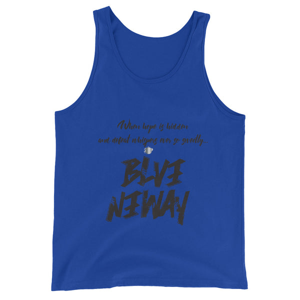Believe Anyway BeBold Unisex Tank Top - KA Inspires