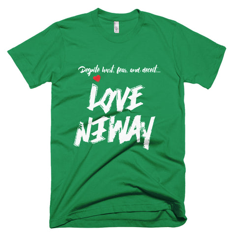 Love Anyway Despite Naysayers Unisex Short-Sleeve T-Shirt - KA Inspires