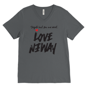 Love Anyway Despite Naysayers Mens V-Neck - KA Inspires