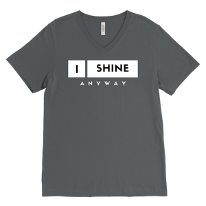 I Shine Anyway Mens V-Neck