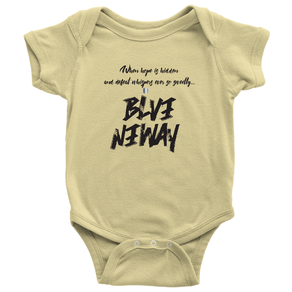 Believe Anyway Be Bold Baby Bodysuit - KA Inspires