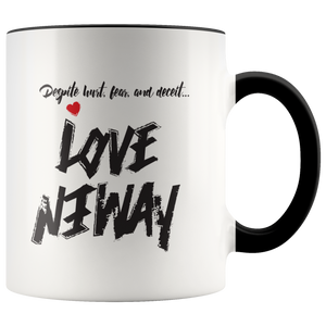 Loyal Love Anyway Accent Mug - KA Inspires