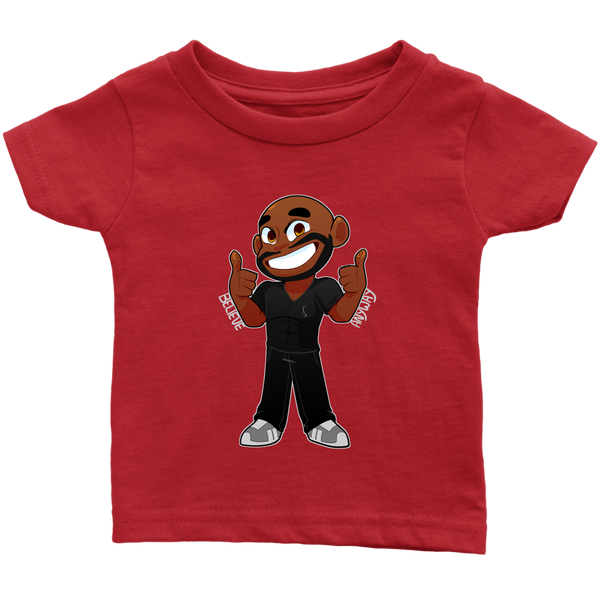 KA Believe Anyway Infant T-Shirt - KA Inspires