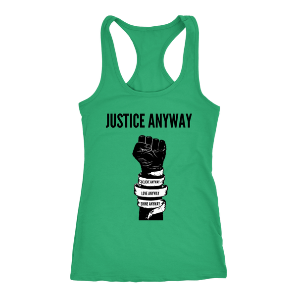 Justice Anyway Womens Tank
