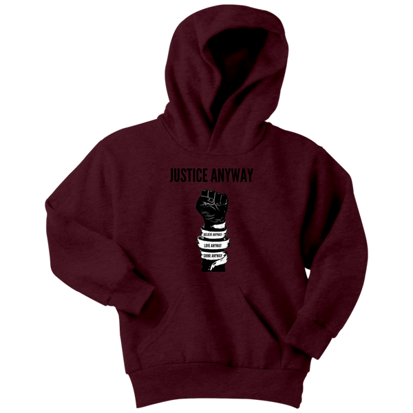 Justice Anyway Youth Hoodie