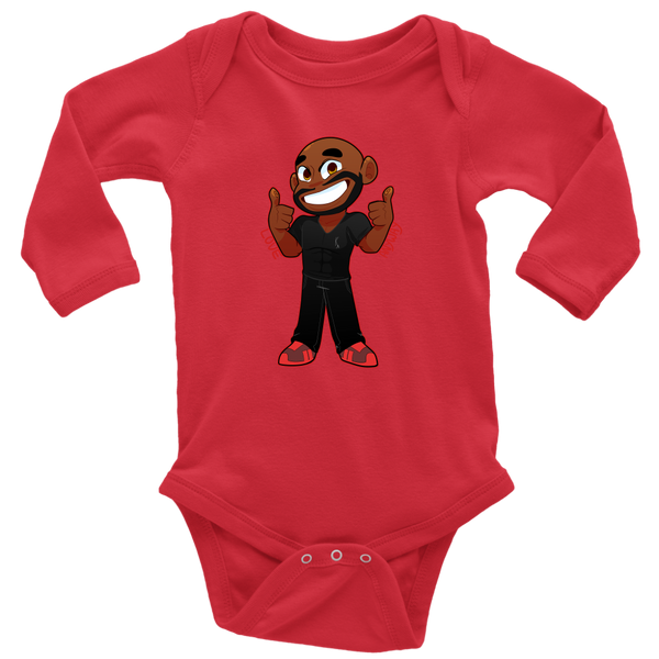 KA Love Anyway Long Sleeve Baby Bodysuit - KA Inspires