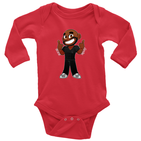 KA Believe Anyway Long Sleeve Baby Bodysuit - KA Inspires