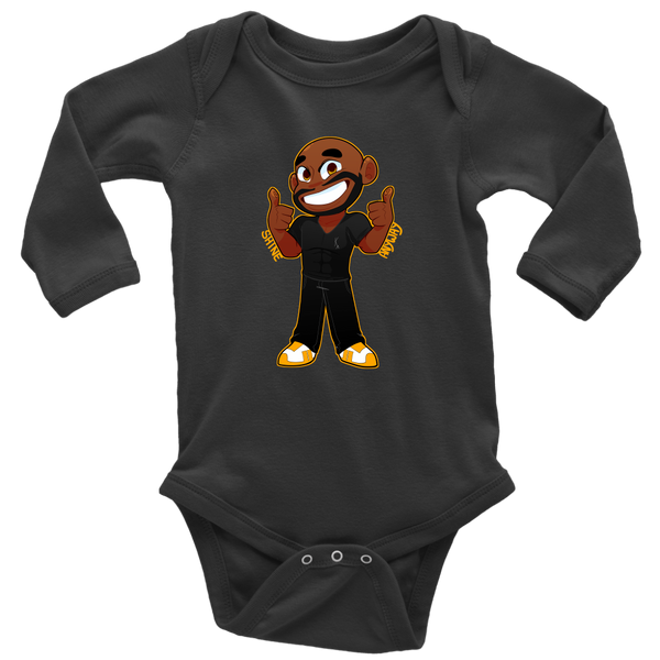 KA Shine Anyway Long Sleeve Baby Bodysuit - KA Inspires