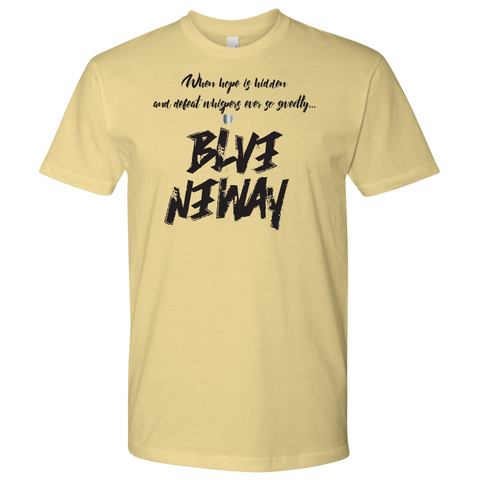 Believe Anyway Be Bold Mens Shirt - KA Inspires