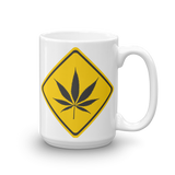 Marijuana Warning Mug