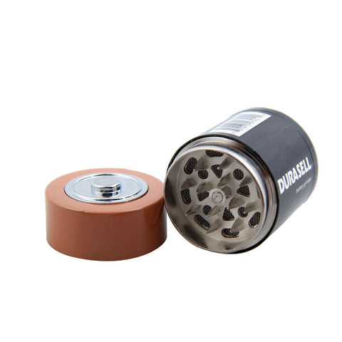 Discrete Battery-Disguised Metal Herb Grinder