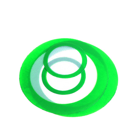 Round Silicone Dab Mats