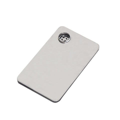 Discrete Portable Credit Card Smoking Pipe