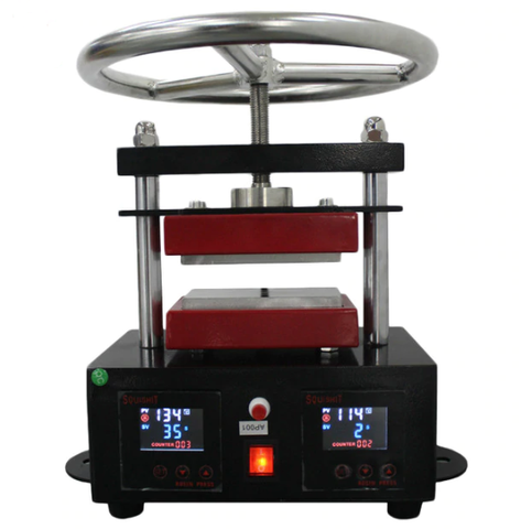 6 X 12 cm Hand-Spin Rosin Press Machine