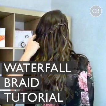 Waterfall Braid Tutorial | Styled with the T3 Singlepass Whirl