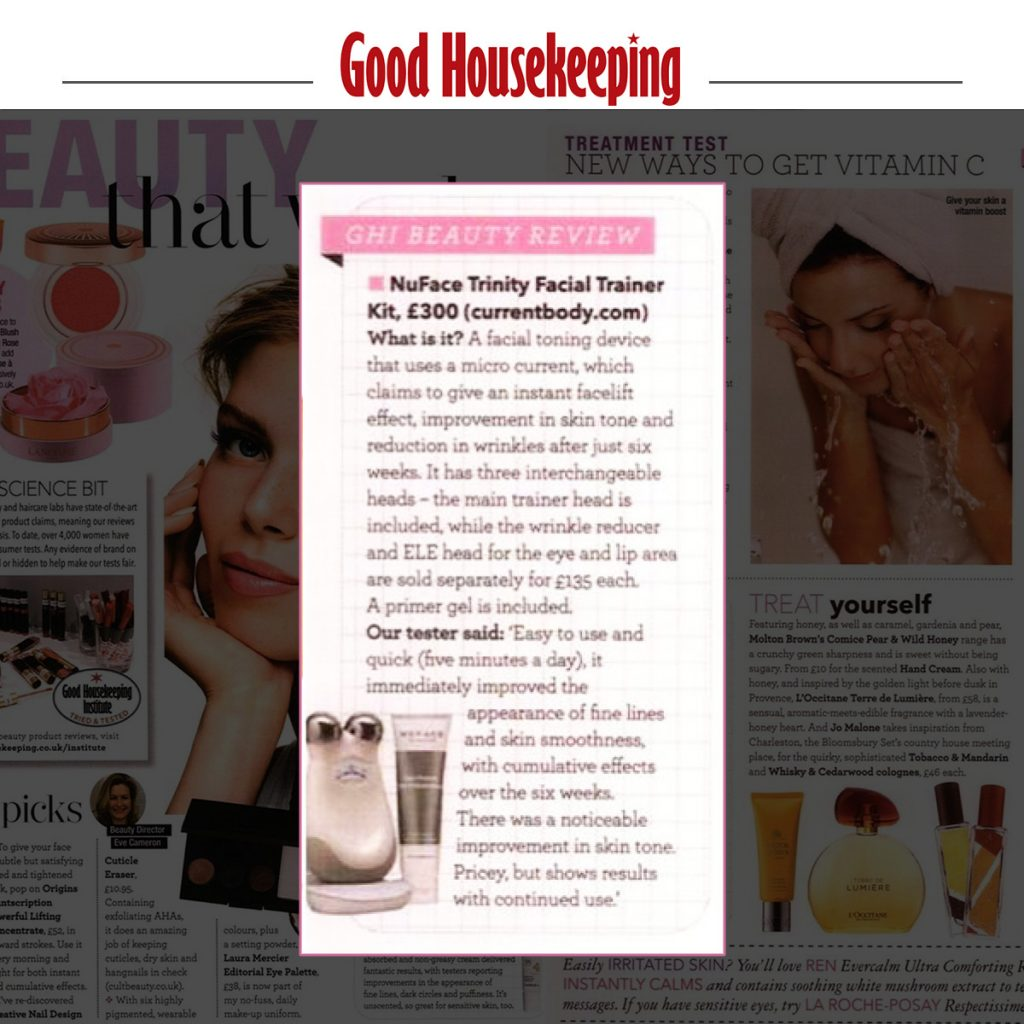 PRESS COVERAGE: CURRENTBODY IN GOOD HOUSEKEEPING