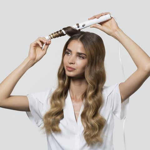 Hair Styling with the T3 SinglePass Wave
