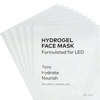 Image: 10 unpackaged CurrentBody HydroGel Masks