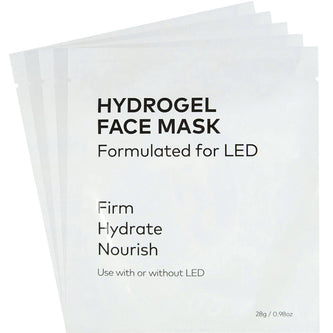 Image: 5 unpackaged CurrentBody HydroGel Masks